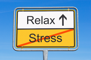 relax no stress sign